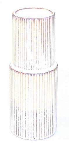 Vase Ceramic Stripey Large