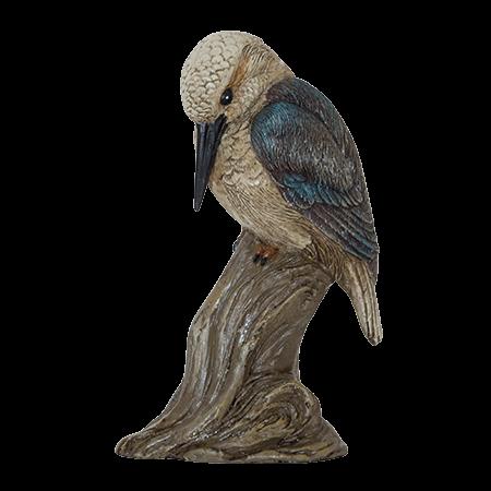Kingfisher on Stump