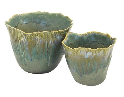 Jade Lettuce Pot