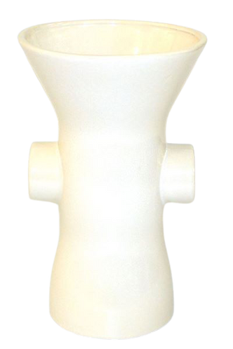 Vase with Handle Cream Large