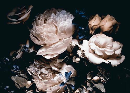 24 Disposable Paper Placemat Floral