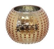 Sea Urchin Gold Ball Vase