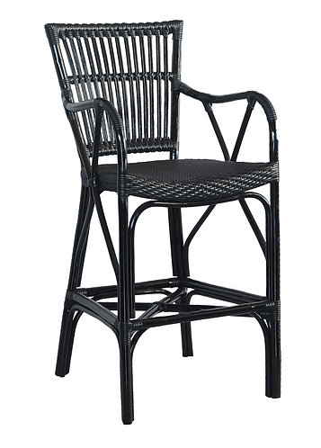 Banda Bar Stool Black