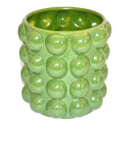 Pot with Bobbles Green