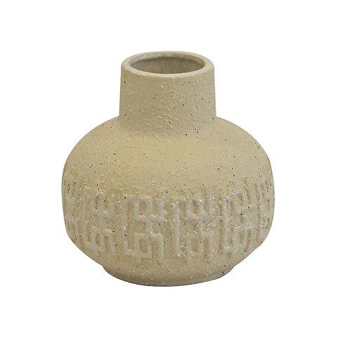 Ceramic Ocean bottle sand small