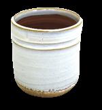 Pot White Natural White