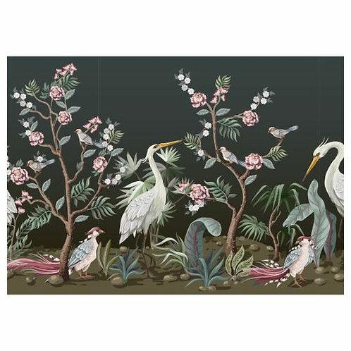 White Herons in Rose Garden Dis Placemat
