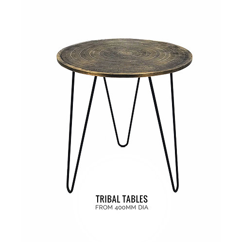 Hairpin Tribal Table
