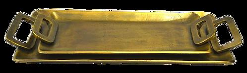 Tray Metal Brass Antique