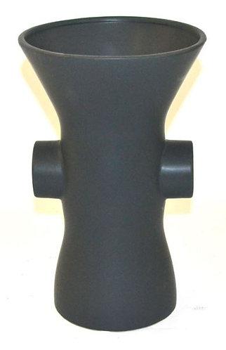 Vase with Handle Black