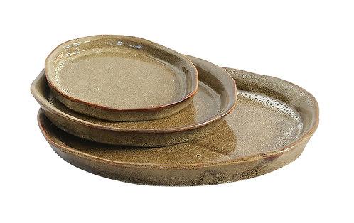 Expresso Ceramic Tray Set of 3