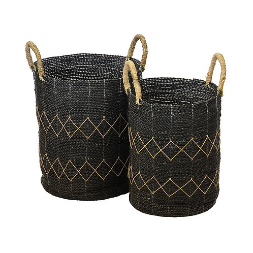 Diamond Black Basket