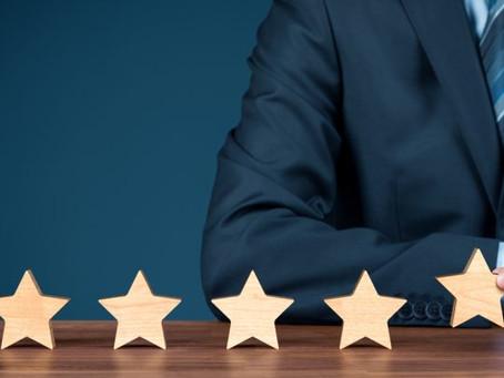 Las quejas vs. el nivel de excelencia de algunas empresas
