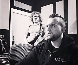 In the studio w/ #MattMyers earlier this
