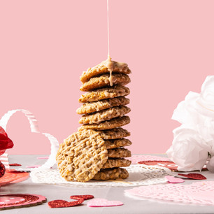 Oatmeal Cookie Drizzles