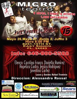Micro teatro_Ni Tan Locos CreArte Latino