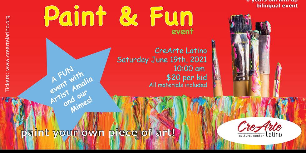 Paint & Fun Event