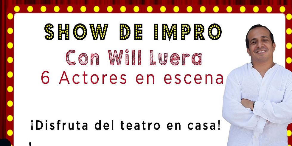 Show Virtual de Improvisación