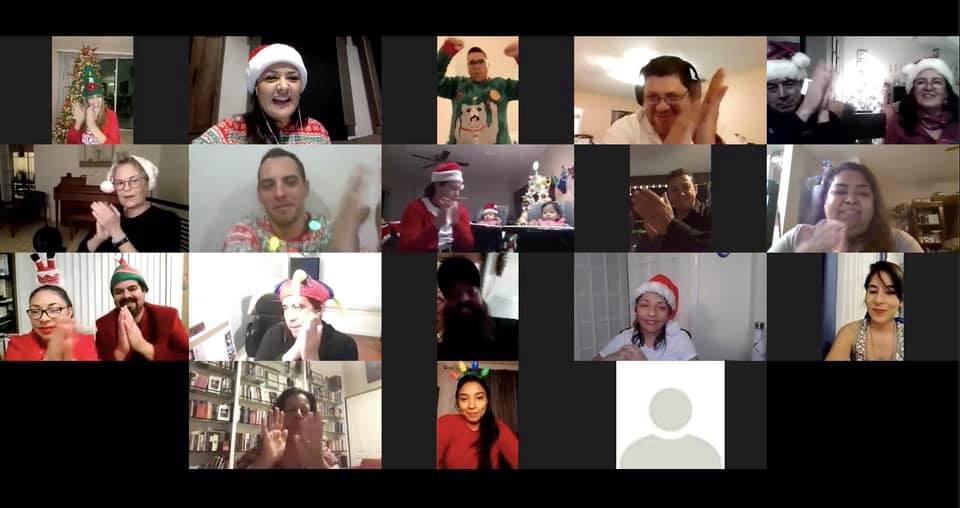 Christmas celebration at CreArte 2020