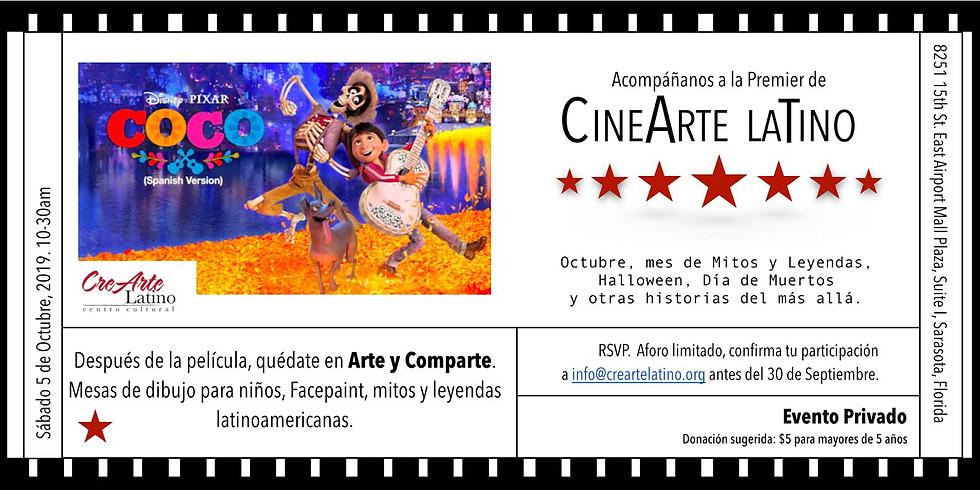 CineArte Latino Pelicula infantil en español: Coco