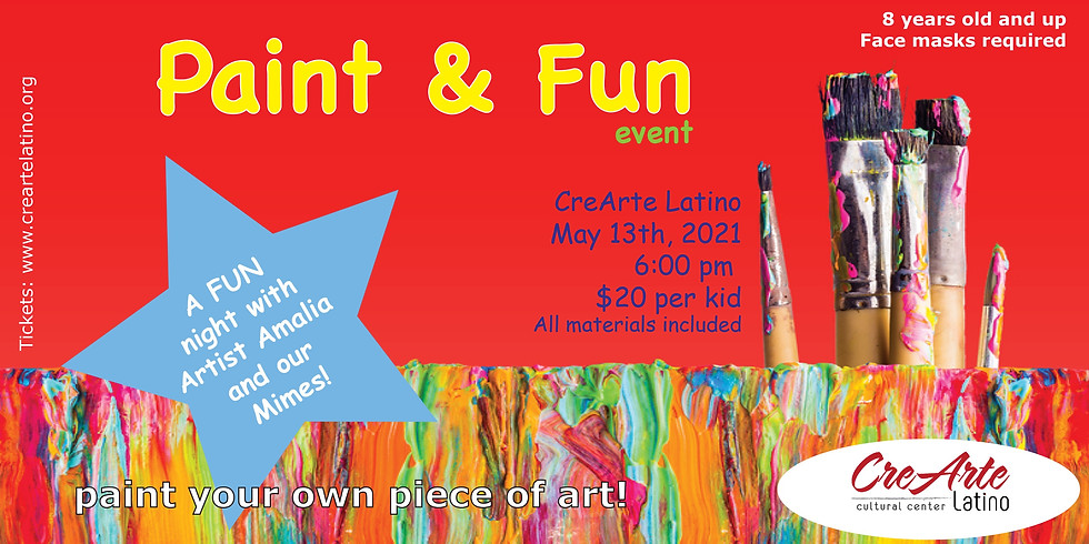 Paint and Fun event