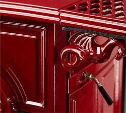 Beautiful enamel red