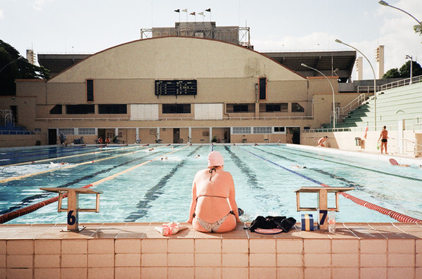 Public Swimming Pool [photo series]