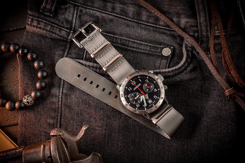Gray premium Seat Belt Nato Watch Strap