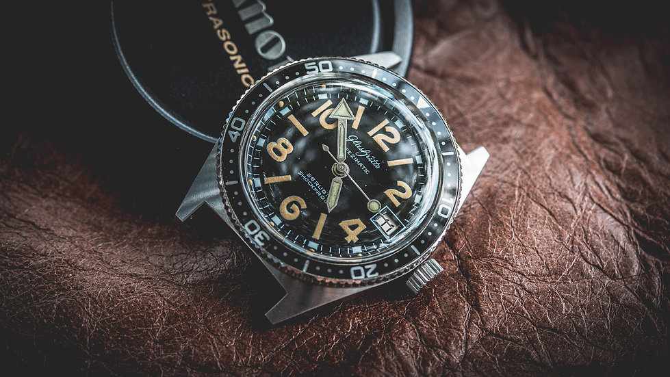 Glashütte Spezimatic diver watch