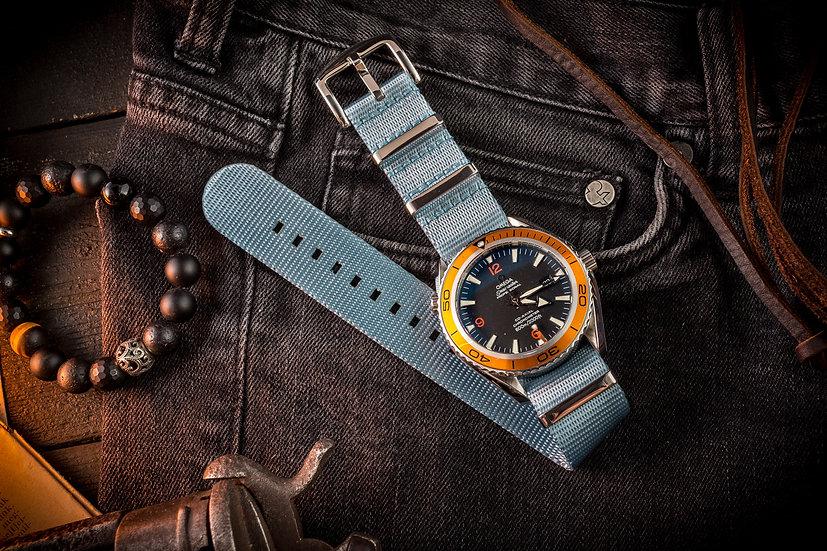 Light Blue premium Seat Belt Nato Watch Strap