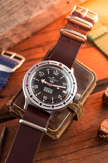NOS - Vintage Cardi-Vostok Capitan Amphibia mens watch