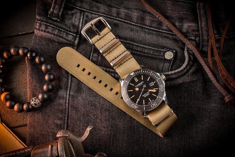 22mm Khaki premium Seat Belt Nato Watch Strap