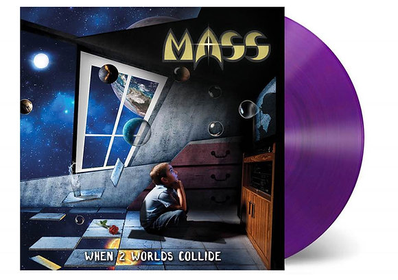 "MASS ""When 2 Worlds Collide"" Purple Vinyl"