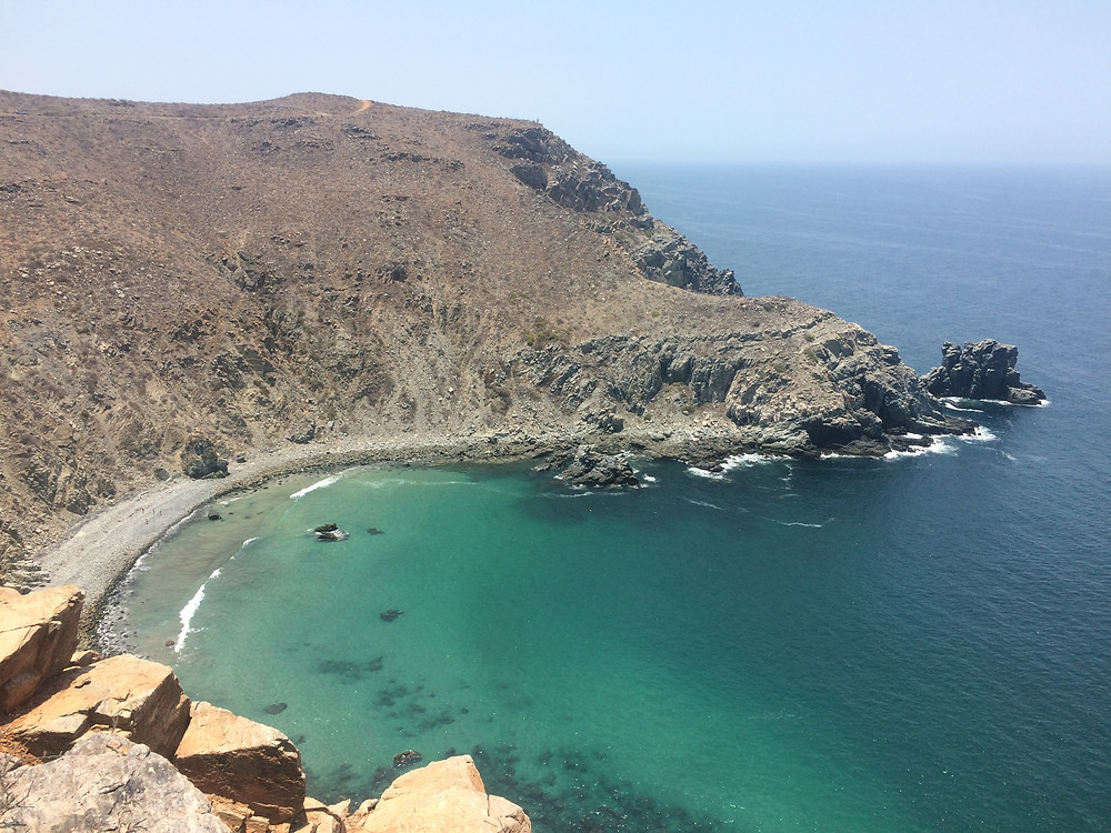A nice hike from Punta de Lobos to Old Port in Todos Santos. Nice place to go for a swim after the 1 hour walk