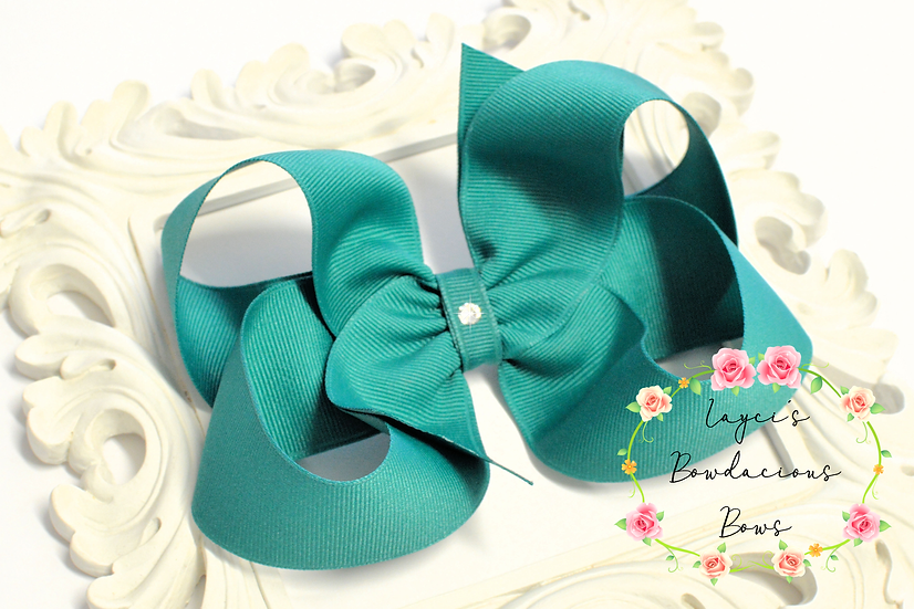 "Extra Large Boutique Hair Bows - 5"" bows"