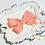 """Thumbnail: Petite Small Pinwheel Hair Bows - 2.75"""" bows"""