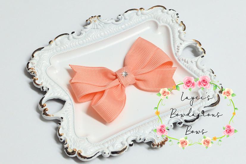 """Petite Small Pinwheel Hair Bows - 2.75"""" bows"""