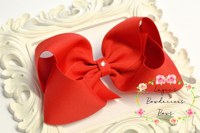 """Deluxe Extra Large Boutique Hair Bows - 5"""" bows"""