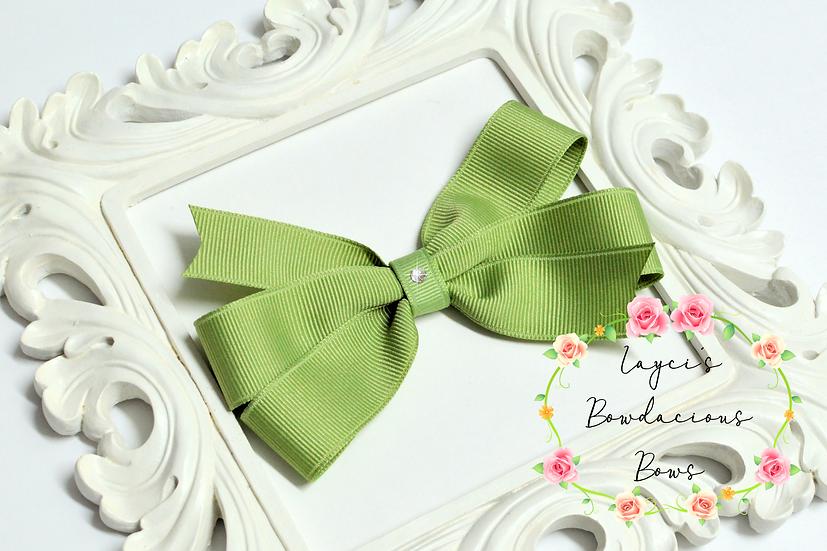 """Petite Large Pinwheel Hair Bows - 4.5"""" bows"""