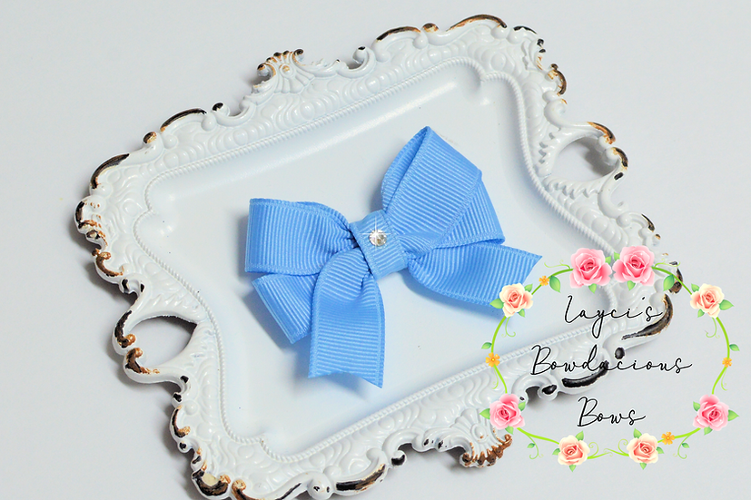"Extra Small Tails Down Hair Bows - 2.25"" bows"