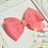 "Thumbnail: Petite Medium Pinwheel Hair Bows - 3.75"" bows"
