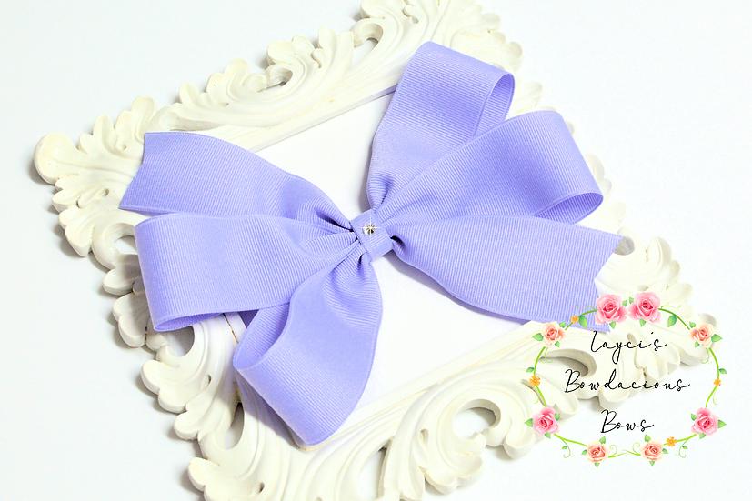 "Super Large Pinwheel Hair Bows - 7"" bows"