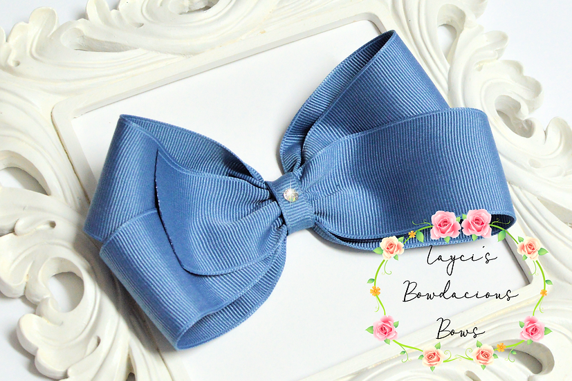 "Extra Large Classic Hair Bows - 5.5"" bows"