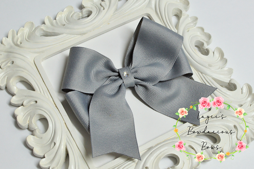 """Petite Large Tails Down Hair Bows - 4.5"""" bows"""