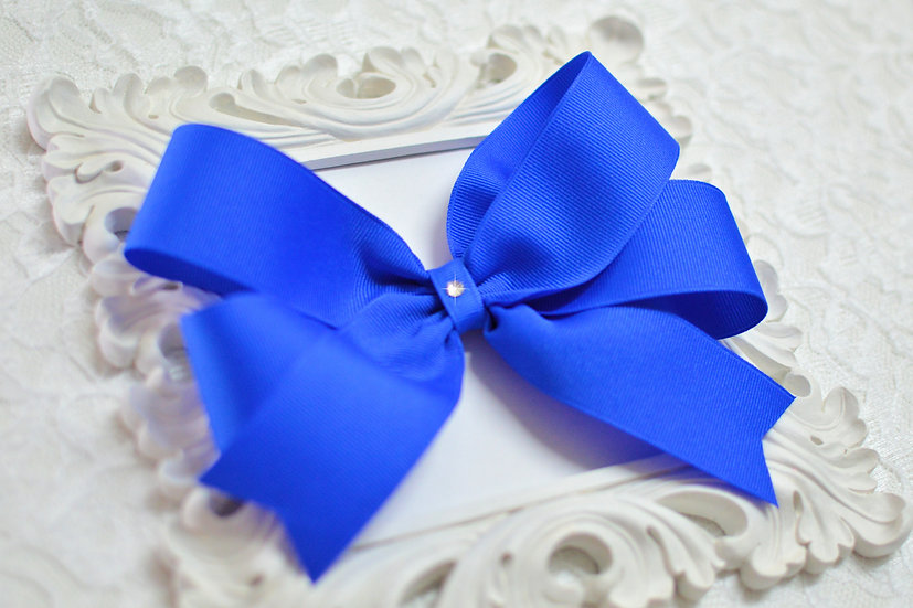 Large Tails Down Hair Bows