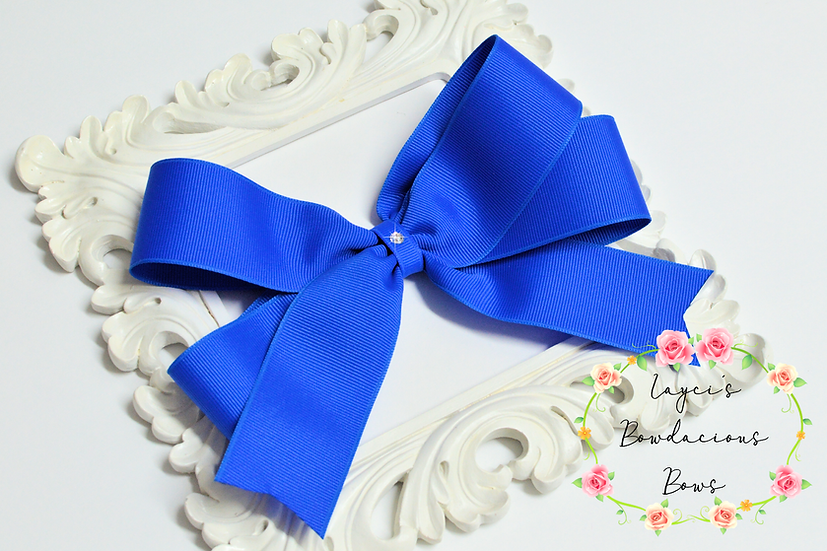 """Super Large Tails Down Hair Bows - 7"""" bows"""