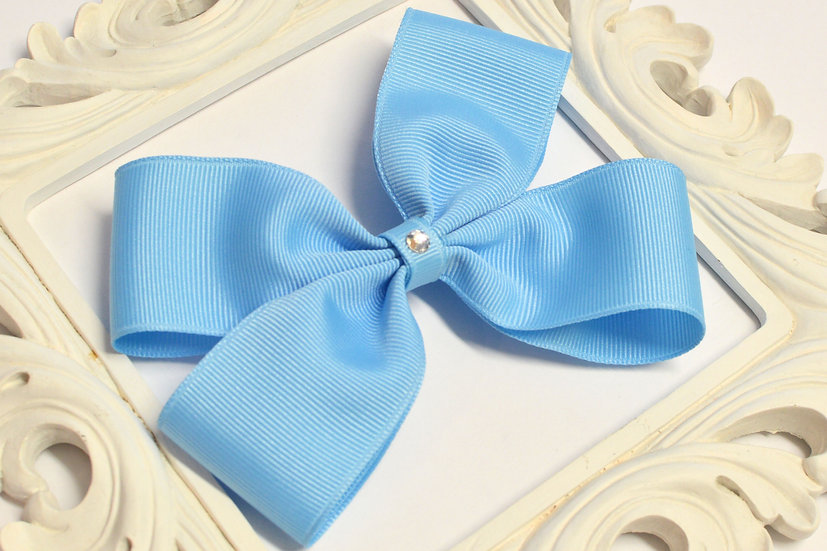 Large Double Bow Tie Hair Bows