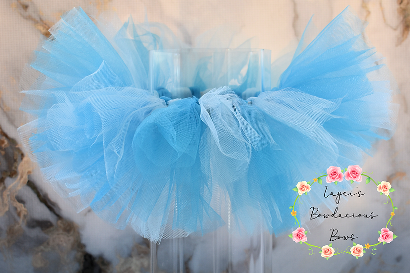 Blue and Turquoise Tutu