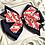 Thumbnail: Star Spangled Layered Navy Pinwheel Bow - medium - large - extra large