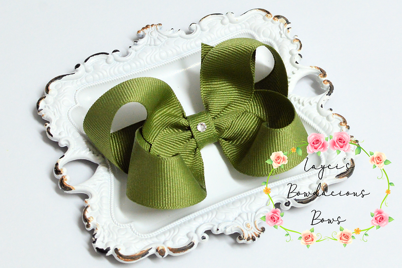 "Petite Medium Boutique Hair Bows - 3.25"" bows"